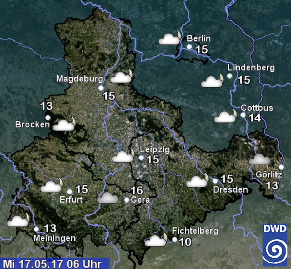 Wetter Aktuell Magdeburg
