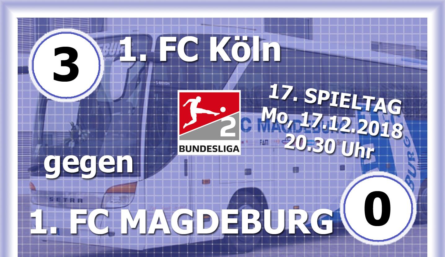 2 Fussball Bundesliga News 1 Fcm Verliert In Koln