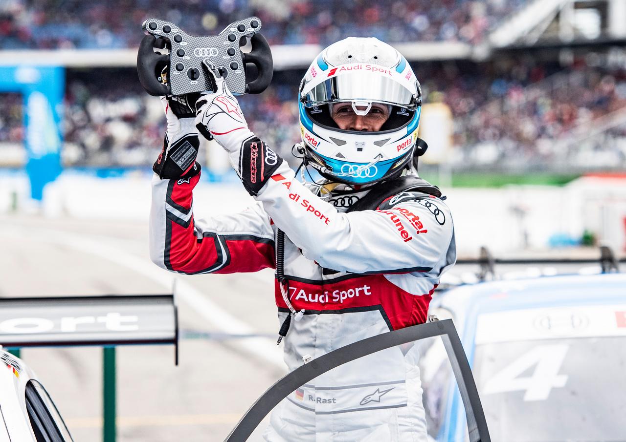 DTM News: Dreifachsieg für Audi, überragender René Rast ...