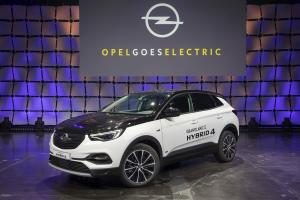 2019 Opel goes Electric Grandland X Hybrid4 507081.news