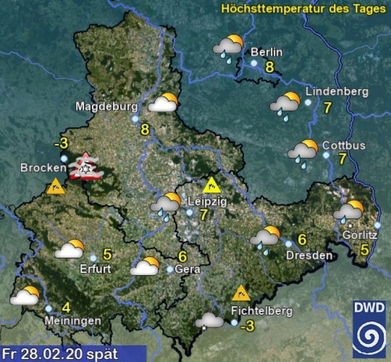 Wetter Magdeburg Morgen