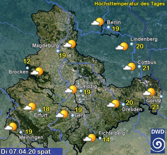 Wettervorhersage Für Magdeburg