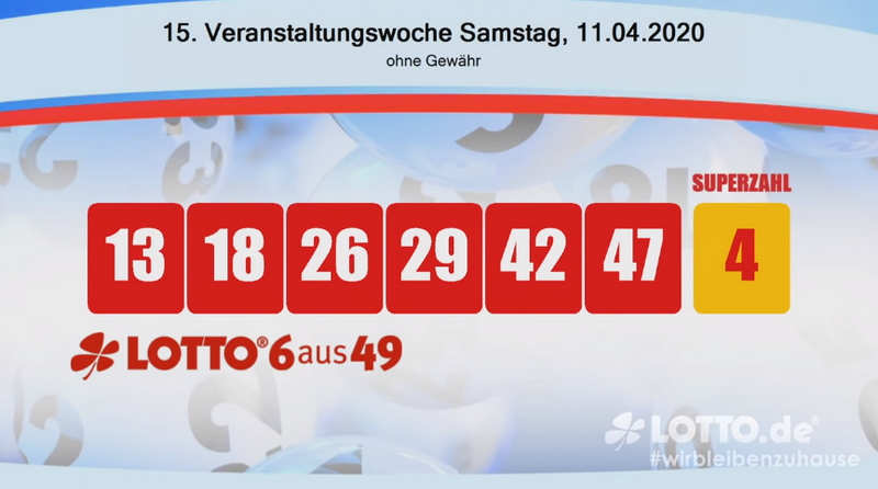Www.Lotto Am Samstag 6 Aus 49