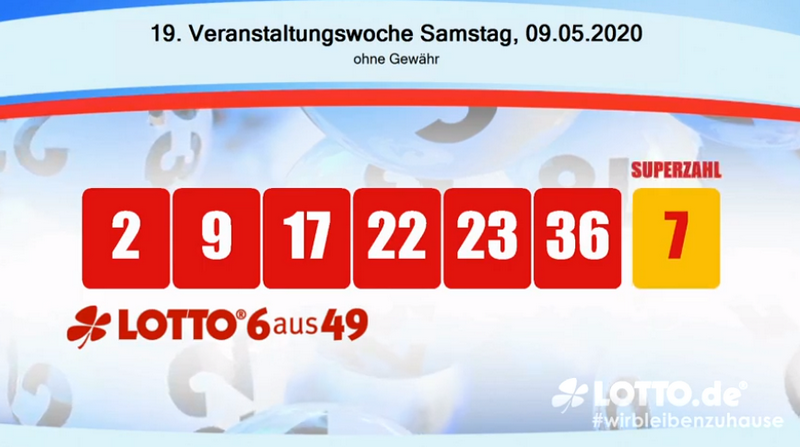 Abgabe Lotto Samstag