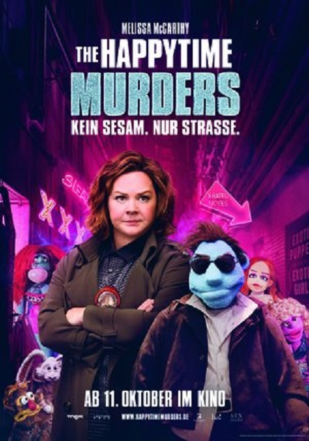 The Happytime Murders Poster 2018 rcm300x428u