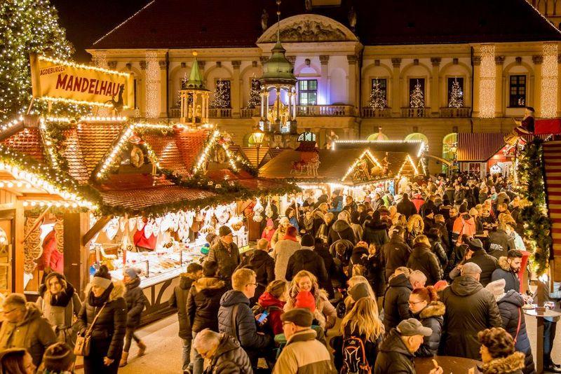 Magdeburg Weihnachtsmarkt öffnungszeiten.Magdeburger Weihnachtsmarkt Erwartet Besucheransturm Am 1
